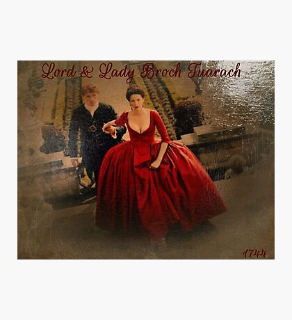 Lord & Lady Broch Tuarach oil painting Photographic Print