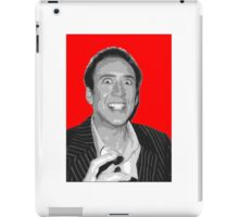 Nick Cage iPad Case/Skin