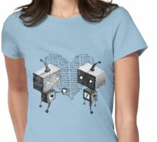 Digital Love Womens Fitted T-Shirt