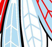 Blackhawks Feathers - Chicago Theme  Sticker