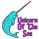 Narwhal Unicorn Of The Sea by doonidesigns