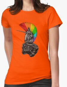 unicorn are not dead Womens Fitted T-Shirt