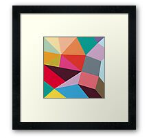 new geometry 2 Framed Print