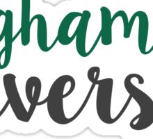 Binghamton University - SCRIPT Sticker
