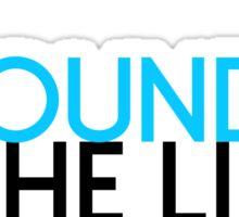 The Ground is the limit Sticker