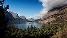 St. Mary Lake and Wild Goose Island. by Alex Preiss