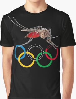 Blood Test at the Olympics Graphic T-Shirt