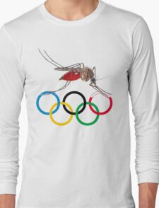 Blood Test at the Olympics Long Sleeve T-Shirt