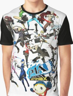 PERSONA 4 ARENA ULTIMAX Graphic T-Shirt