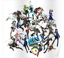 PERSONA 4 ARENA ULTIMAX Poster