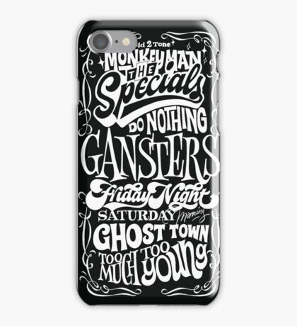 THE SPECIALS iPhone Case/Skin