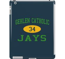 Gehlen Catholic Jays 34 Football iPad Case/Skin