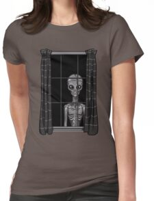 The Visitor Womens Fitted T-Shirt