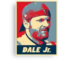 Dale Jr. OB Canvas Print