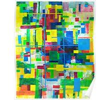 Blocks - Grid Poster