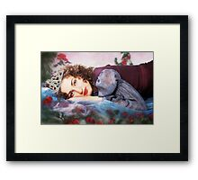Princess Just Woke Up. Framed Print