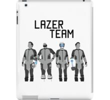 Lazer Team  iPad Case/Skin