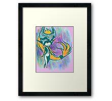 Midna (water color sketch) Framed Print