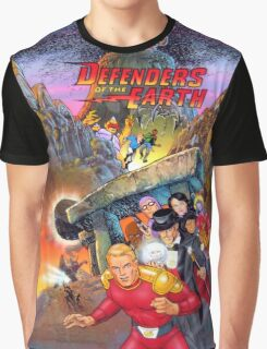 Defenders of the Earth Graphic T-Shirt