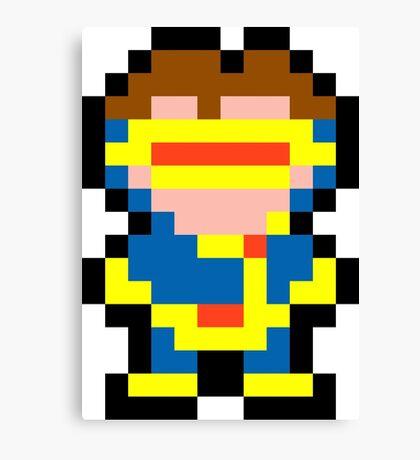 Pixel Cyclops Canvas Print