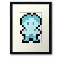 Pixel Iceman Framed Print
