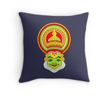 Indian Dance Kathakali Throw Pillow