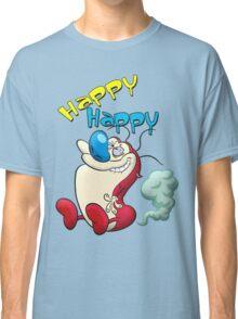 Happy Happy Stimpy Gas Classic T-Shirt