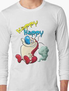 Happy Happy Stimpy Gas Long Sleeve T-Shirt