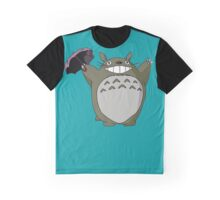 TOTORO THERE IS NO RAIN Graphic T-Shirt