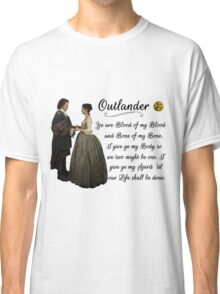 Outlander Wedding Vow Classic T-Shirt