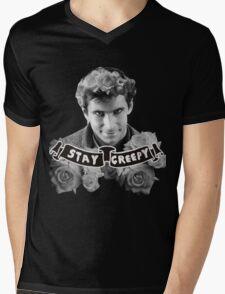Norman Bates   Stay Creepy Mens V-Neck T-Shirt