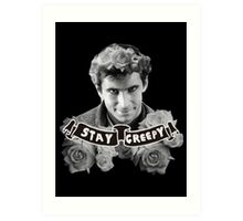 Norman Bates | Stay Creepy Art Print