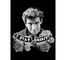 Norman Bates | Stay Creepy Photographic Print