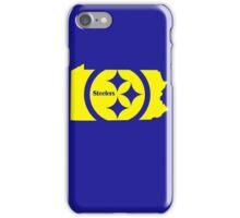 Steelers funny nerd geek geeky iPhone Case/Skin