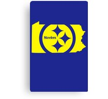 Steelers funny nerd geek geeky Canvas Print