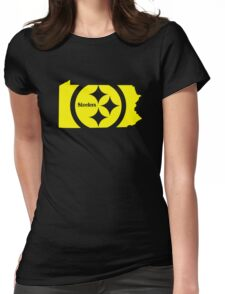 Steelers funny nerd geek geeky Womens Fitted T-Shirt
