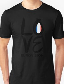 LOVE Eurovision [France] T-Shirt