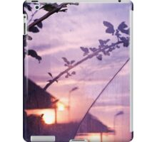 Abstract Nature Window Glass Sunset Landscape iPad Case/Skin