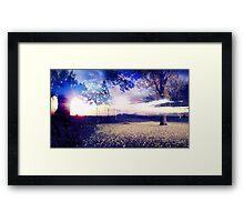 Beautiful Nature Landscape  Framed Print