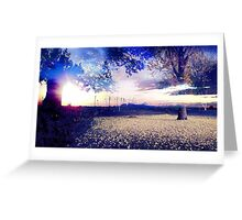 Beautiful Nature Landscape  Greeting Card