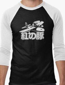 Porco Rosso Funny Men's Tshirt Men's Baseball ¾ T-Shirt