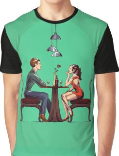 Couple in restaurant Graphic T-Shirt