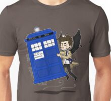 Castiel Has The Phone Booth Unisex T-Shirt