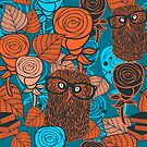Autumn owls by Ekaterina Panova