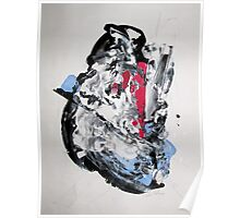 It's not worth crying over spilt milk - Original Wall Modern Abstract Art Painting Poster