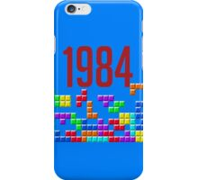 tetris 84 iPhone Case/Skin