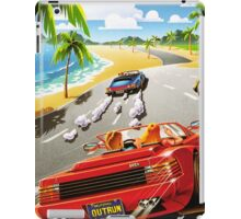 California OutRun SEGA utopian heaven arcade racer iPad Case/Skin