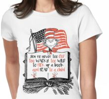 Read Across America Edition Womens Fitted T-Shirt