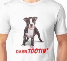 Boston Terrier Puppy - Darn Tootin' Unisex T-Shirt