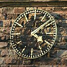 One Face of the Clock of Tarvin Church, Cheshire by AnnDixon